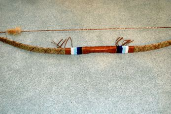 Bow quiver and display