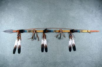 Lavern little Rawhide wrapped Spear