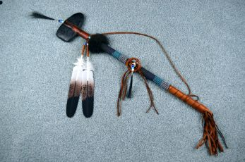 Lakota Sioux War club